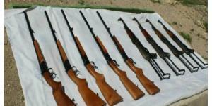 کشف بیش از ۴ هزار قبضه سلاح قاچاق در خوزستان
