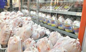 توقیف ۳۵ تن گوشت مرغ قاچاق در مرز دوغارون
