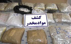 دستگیری ۴ سوداگر مرگ و کشف بیش از یک تن مواد افیونی در ایرانشهر