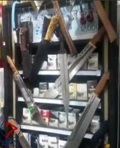 عکسی عجیب از یک سوپرمارکت بین راهی در کرمان