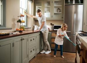 آشپزخانه؛ سختترین قسمت خانه تکانی