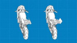 طراحی پهپاد موتور سوار!