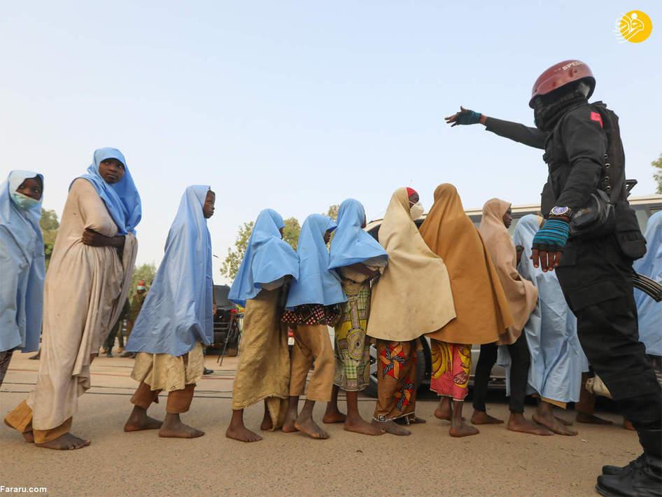 آزادی ۲۷۹ دختر دانش آموز ربوده شده در نیجریه