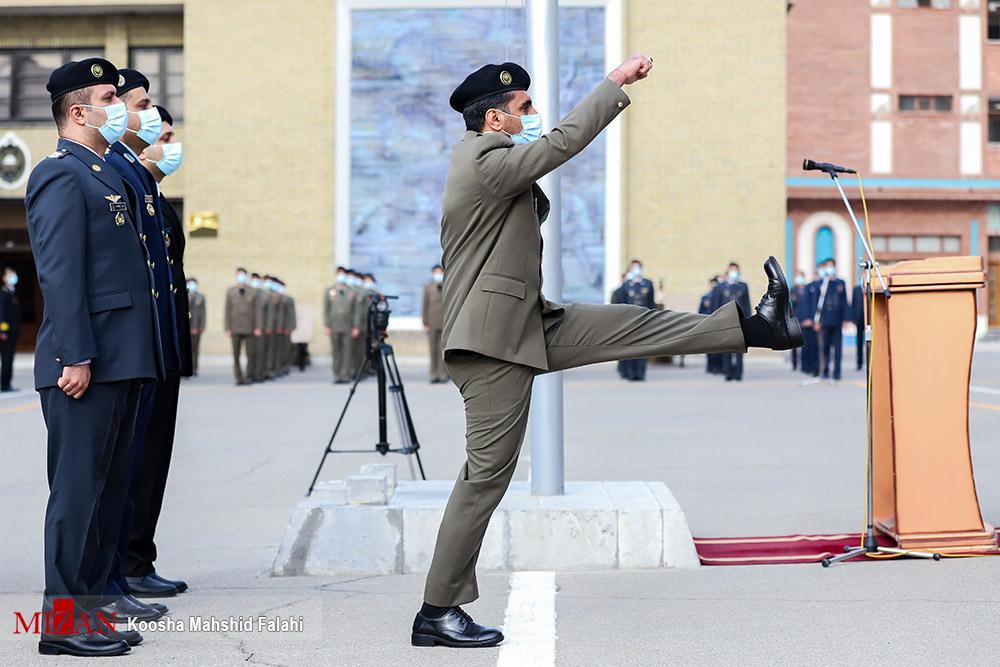 عکس/ مراسم دانش آموختگی دانشجویان دافوس ارتش