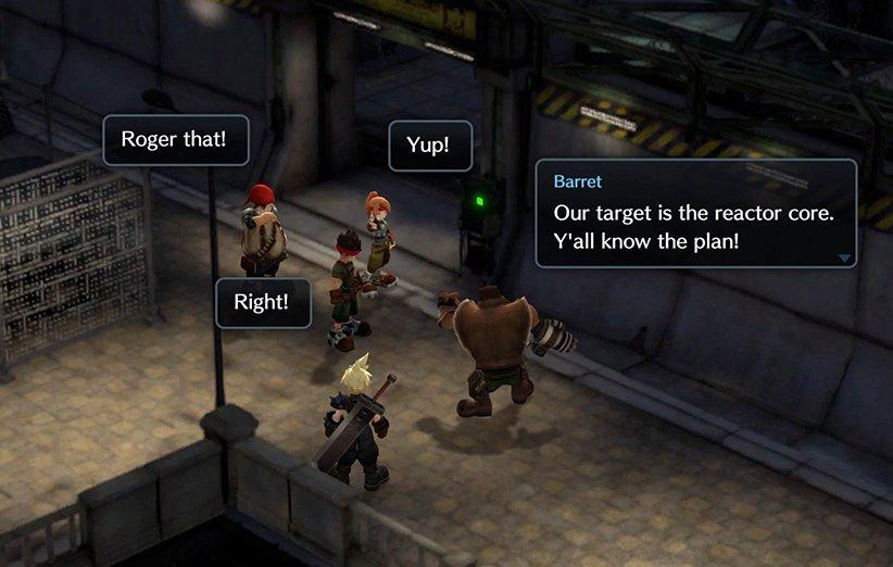 فاینال فانتزی ۷ در قالب یک بازی موبایل معرفی شد