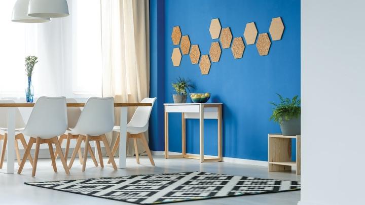نحوه استفاده از دیوارهای طراحی شده در تغییر دکوراسیون خانه