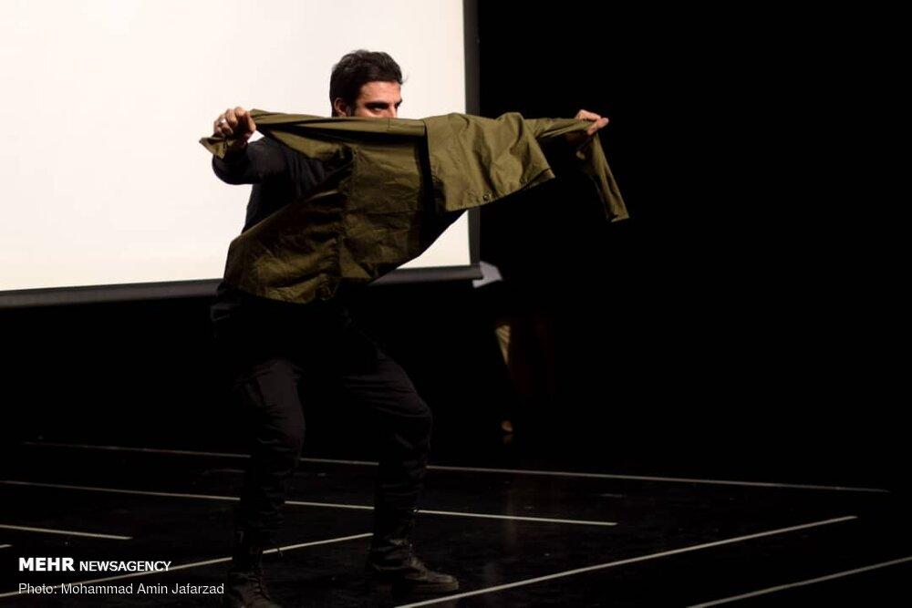تصاویری از اختتامیه اولین جشنواره ملی و سراسری تئاتر سنگر