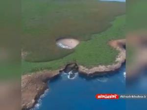 ساحل پنهان در جزایر ماریتاس