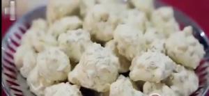 آموزش تهیه شیرینی پفک گردویی برای عید نوروز