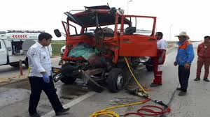 تصادف در اتوبان زنجان-قزوین یک نفر را به کام مرگ برد