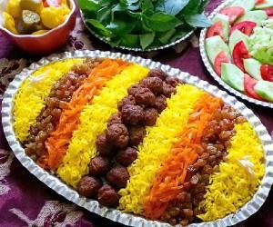 طرز تهیه «ساطری پلو» غذای محلی خراسان