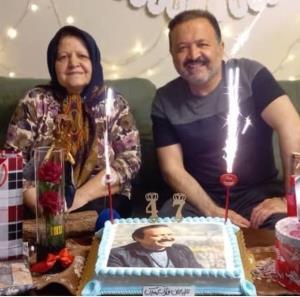 چهره ها/ سورپرایز شدن علی صالحی توسط مادرش در روز تولدش