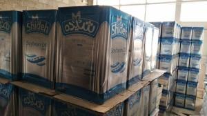 کشف ۲ هزار حلب روغن خوراکی در حمیدیه