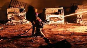 حادثه آتشسوزی دوا اخگر ۹ مصدوم بر جای گذاشت