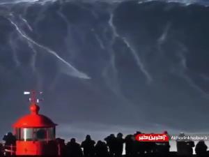 موج سواری روی موج 35 متری