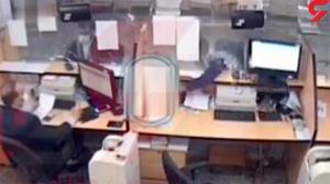 سرقت عجیب در بانک ملی قم