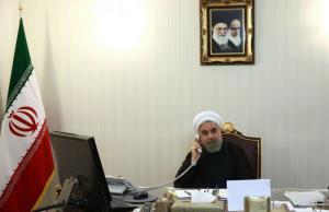 روحانی در تماس با مکرون: تنها راه حفظ برجام، لغو تحریمهای آمریکا است