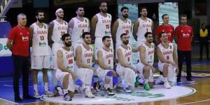 بسکتبال ایران بدون تغییر جایگاه در رنکینگ جهانی