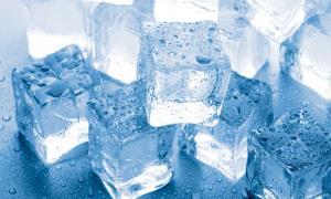 حل ساختار بلوری شکل جدید و عجیب یخ