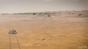 """""""نبوغ""""؛ یک هلیکوپتر کوچک در مریخ"""