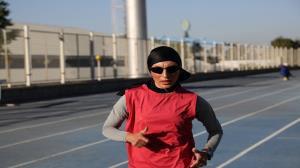 بانوی تاکستانی رکورد ۱۵ ساله دوومیدانی کشور را شکست