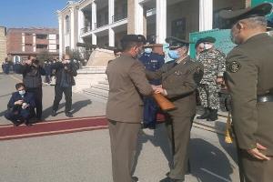برگزاری مراسم دانشآموختگی دانشجویان دافوس با حضور فرمانده ارتش