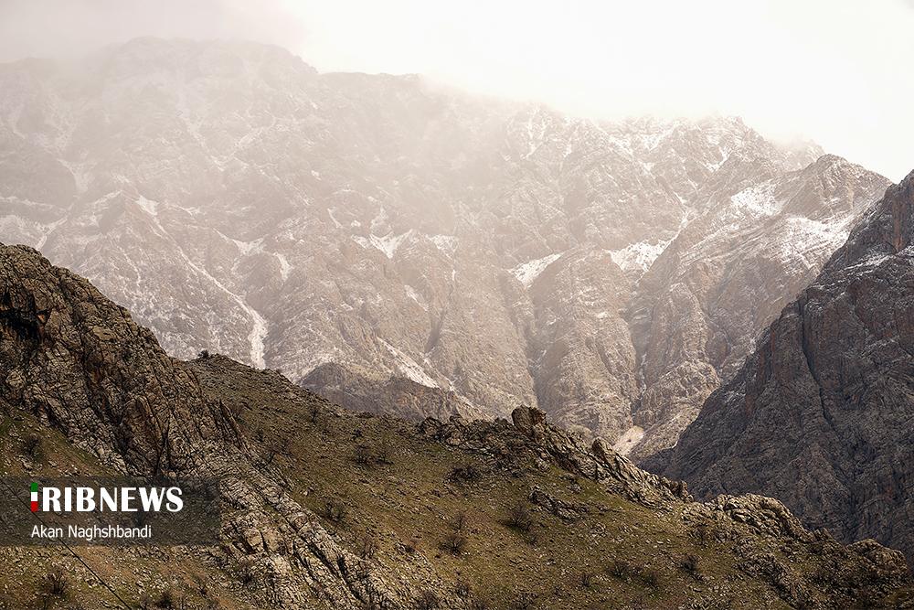عکس/ ژیوار، روستای هزار ماسوله کردستان