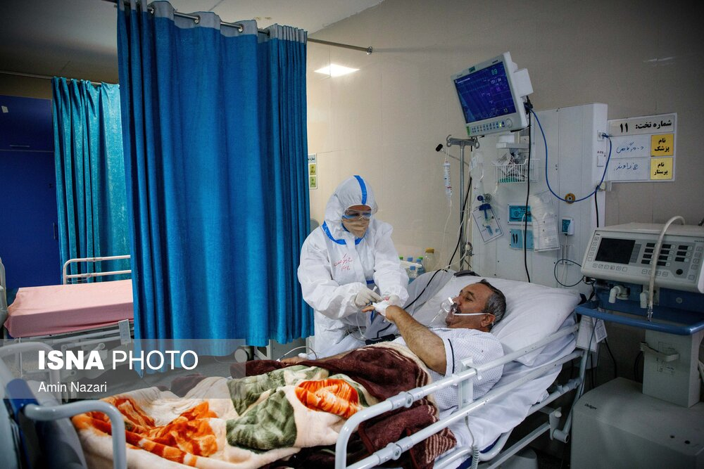 بیمارستان گلستان اهواز در وضعیت قرمز کرونا