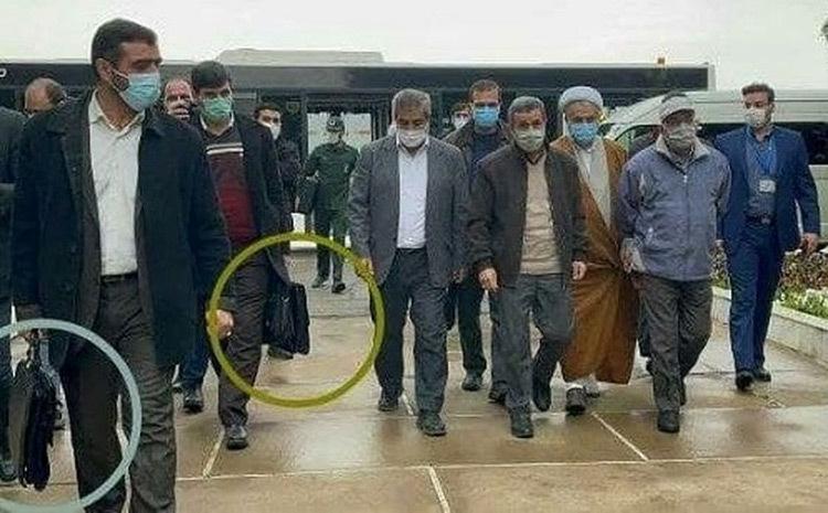 عکس/ کیفهای ضد گلوله برای حفاظت از احمدی نژاد