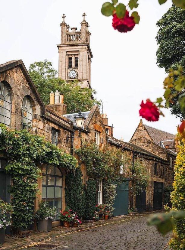 معماری ساختمان های زیبا در انگلیس