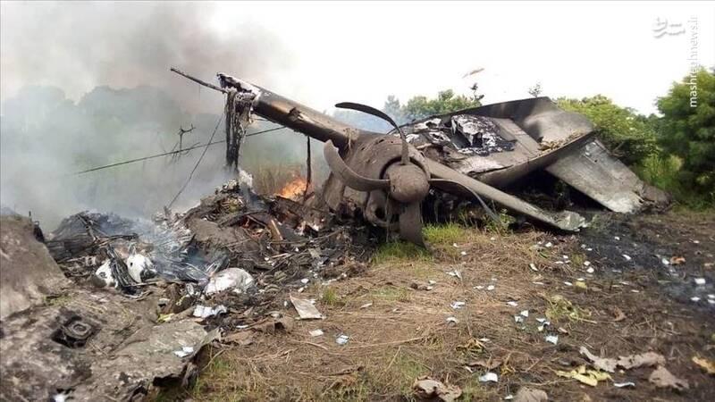 سقوط مرگبار هواپیما در جنوب سودان