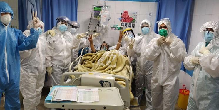 اینفوگرافیک/ بستری ۱۰۰ بیمار کرونا در بیمارستانهای سمنان