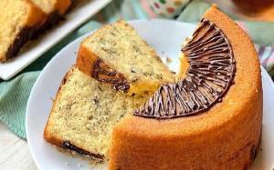 کیک شیرداغ با روکش خامه