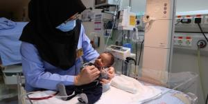 انجام موفقیتآمیز عمل جراحی نوزاد نارس در مشهد