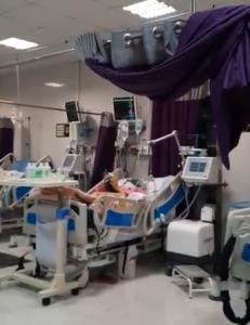 اقدام زیبای بیمار کرونایی برای بیماران بدحال بیمارستان اهواز