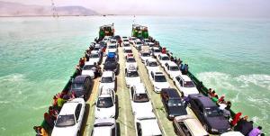 دستور قضایی برای کاهش ۴۰ درصدی عوارض حمل خودرو از اسکله بندر پُهل به قشم