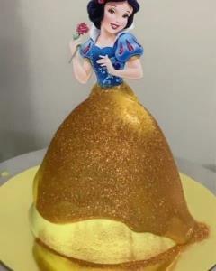 ترفند تزئین کیک های سونامی پرنسسی جذاب