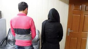دستگیری زوجی که مواد فروش بودند