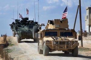 کاروان نظامیان آمریکایی در جنوب عراق هدف قرار گرفت