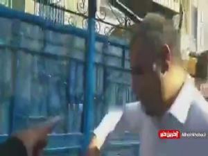 ساکت الهامی در دفتر باشگاه استقلال