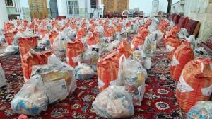 توزیع ۳ هزار بسته معیشتی بین زلزلهزدگان سیسخت