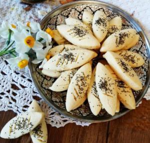 شیرینی پادرازی قزوینی خوشمزه و راحت برای عید نوروز
