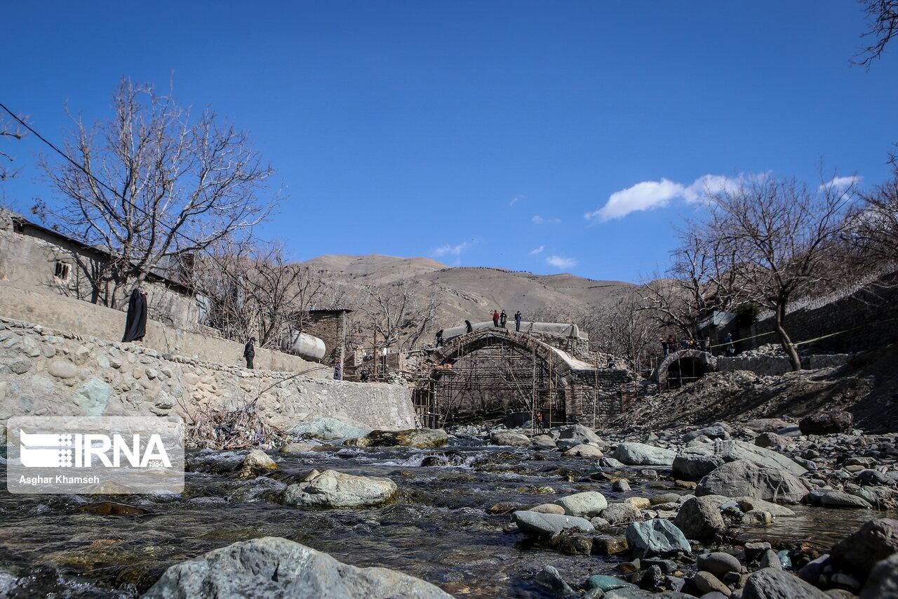 بازسازی و مرمت دو اثر تاریخی در تهران