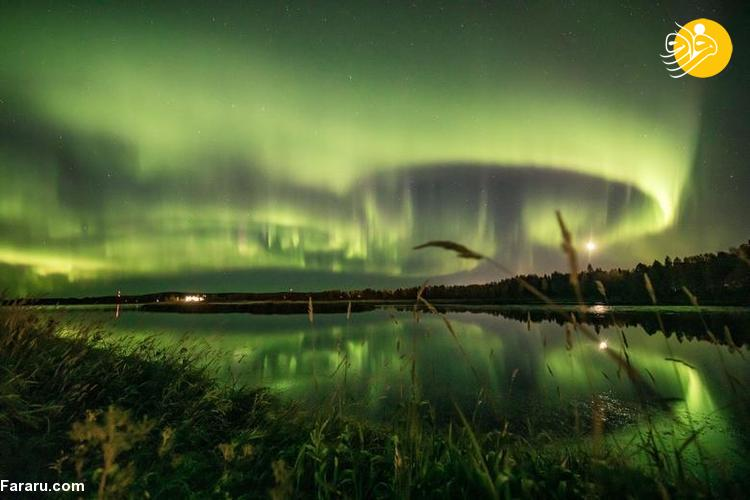 پدیده شفق قطبی در فنلاند