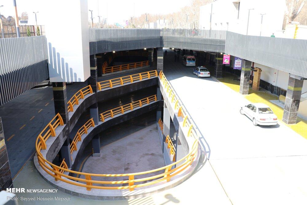 بهره برداری از پایانه و پارکینگ زیر سطحی در مشهد