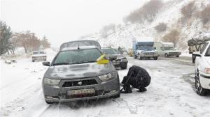 جادههای مازندران برفی میشوند
