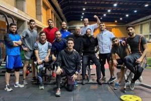 آغاز اردوی کاراته کاها پیش از سفر به استانبول