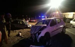 جنون سرعت در یزد، ۴ کشته و زخمی بر جا گذاشت