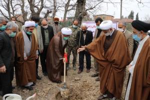 نهالکاری در ۵۱ هکتار از بقاع متبرکه مازندران
