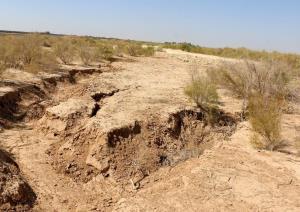 زنگ خطر فرونشست زمین در اسدآباد به صدا درآمد